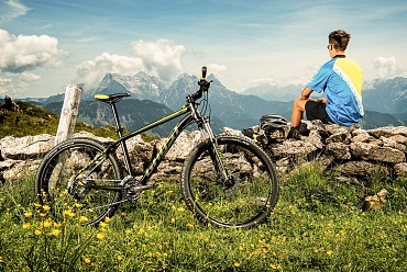 Mountain biking in Brixen