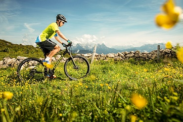 Mountain biking in the Kitzbüheler Alps